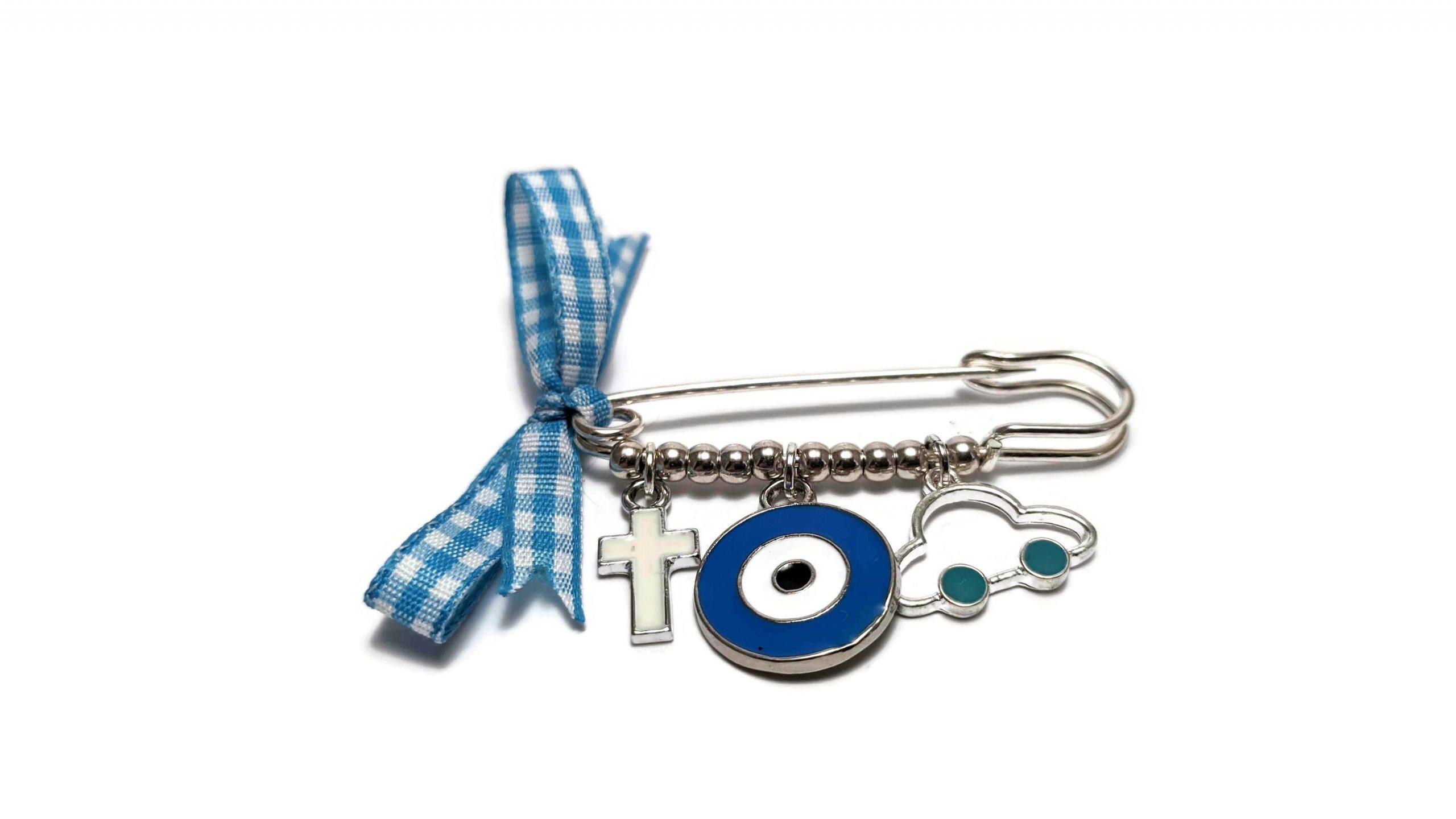 baby boy safety pin