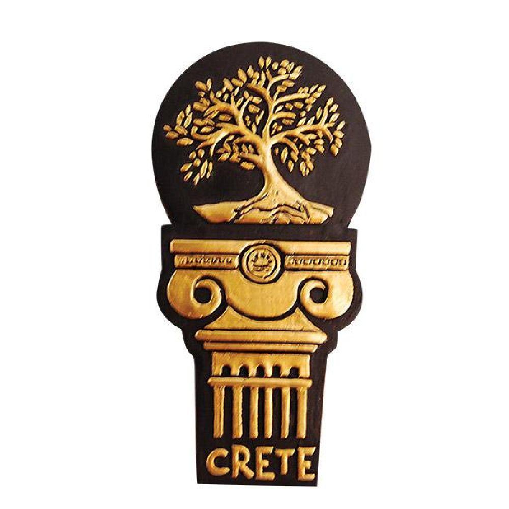 Greek fridge magnet olive tree
