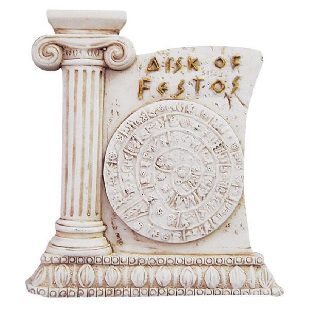 GREEK FRIDGE MAGNET – PHAISTOS DISC- MYTHOLOGY