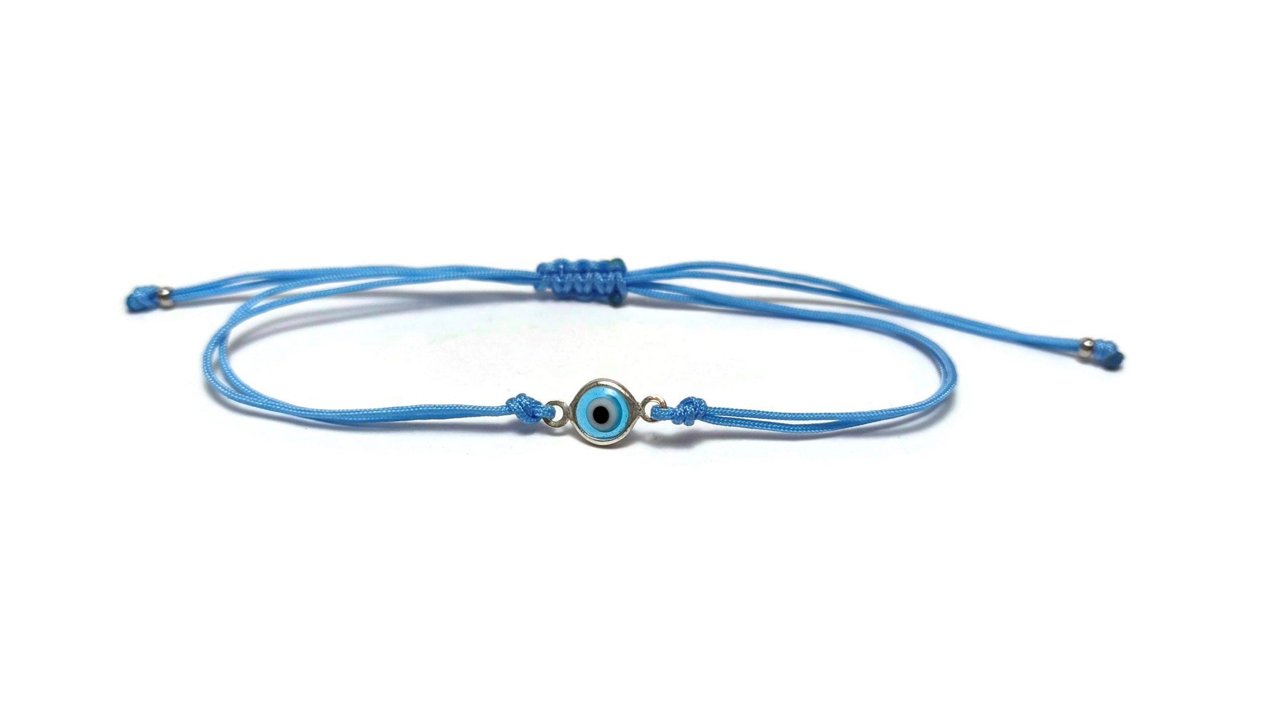 evil eye blue bracelet