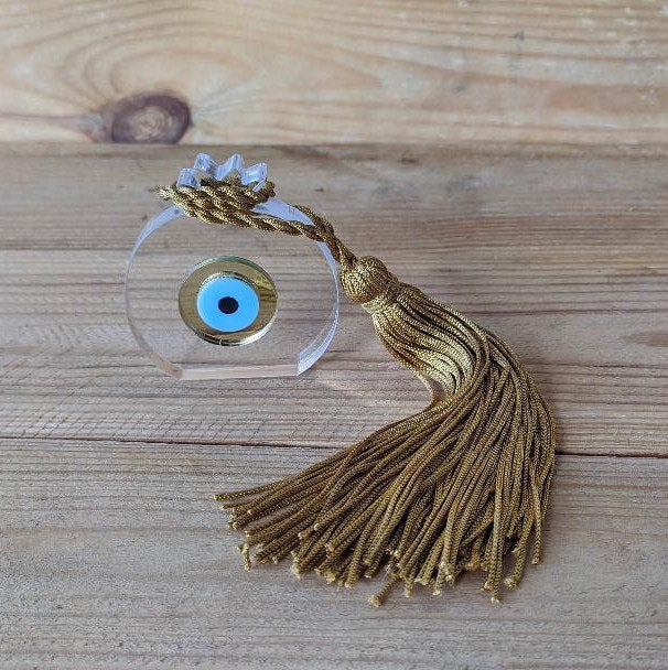 Evil eye ornament house protection