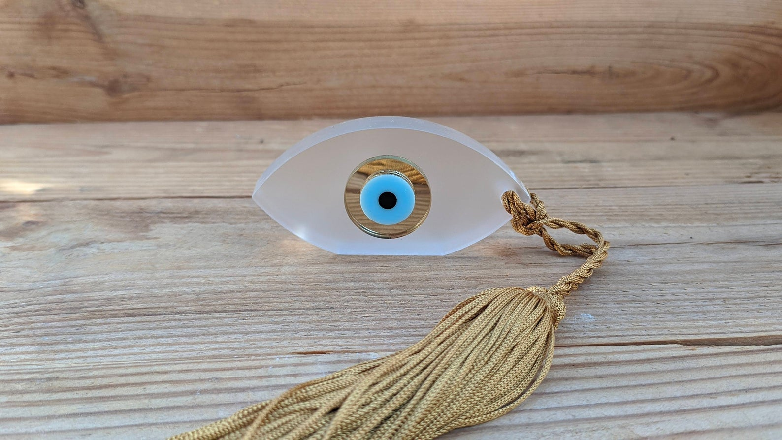evil eye house ornament